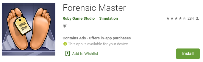 Forensic Master For PC